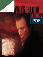 Book - Blood money - Tom Waits (piano)
