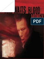 Book - Blood money - Tom Waits (piano)