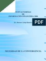 Norm as de Información Financier A