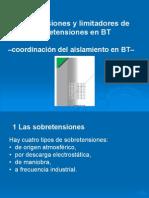 Sobretensiones y Limitadores BT