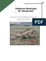 Plan de Desarrollo Municipal de Yamparaez