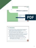Solution-diffusion model