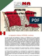 Prensa Aukana, Presentación Batalla de Lima, Enero 2015