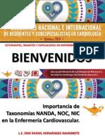 1 Importancia de Taxonomias NANDA-NOC-NIC en La Enfermeria Cardiovascular