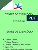 TESTES DE EXERCÍCIO