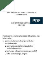 Mekanisme Terjadinya Penyakit Periodontal