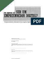 O Que é Ser Um Empreendedor Digital