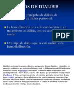 Tipos de Dialisis Peritoneal