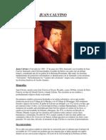 Juan Calvino Biografia