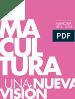 Memoria Lima Cultura 2011-2014