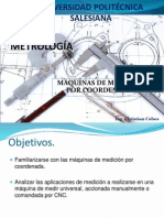 6.- Metrologia - Máquinas de Medicion Por Cordenadas Mmc
