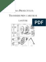 Transmisii Prin Cabluri Si Lanturi-Atestat