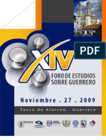 XIV Foro de Estudios sobre Guerrero