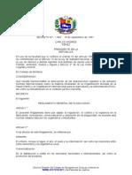 Decreto 1847 Reglamento General de Plaguicidas