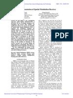 IAETSD-VLSI Implementation of Spatial Modulation Receiver
