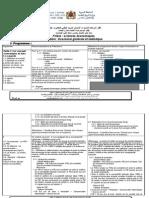 الأطر المرجعية المعدلة علوم اقتصادي Centre 2014