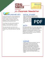 newsletter january 8 2015