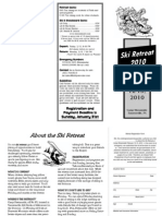 2010 Youth Ski Retreat Brochure