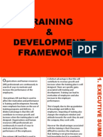 Training Framework For an organisation
