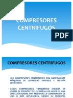 COMPRESORES CENTRIFUGOS