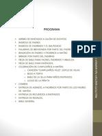 Programa Bautizo