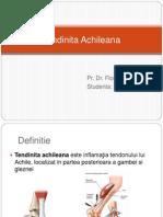 Tendinita Achileana - Recuperare