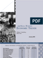 Small Business Economic Trends Jan 2010