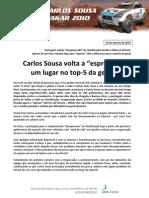 Press Carlos Sousa 10.01.14