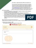 Como Hacer Diagramas de Venn Co WolframAlpha
