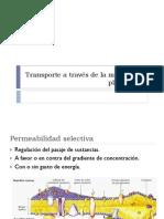 Transporte a Través de La Membrana Plasmática
