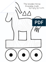 Trojan Horse PrintAble Craft