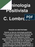 Positivismo Criminal Lombroso