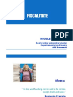 1. Sistem Fiscal. Procedura Fiscala (1) (1)