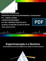 Seminario - Espectroscopia e Quimica
