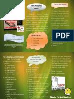 Leaflet Cara Perawatan Luka Gangren Di Rumah