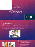 Registro descriptivo