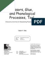 Scissors Glue Phono Process