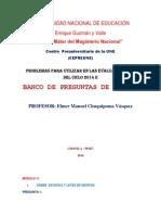 Banco de Preguntas Final 2014 II