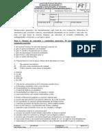 IV Medio 2014 Prueba 1