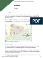 Bayerische Schlösserverwaltung _ Neuschwanstein Castle _ Tourist Info _ How to Get There