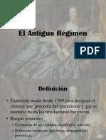 Historia Contemporánea Antiguo Régimen
