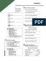 Worksheets 2 7