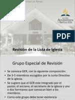 Secretaria de Iglesia Adventista del 7º día