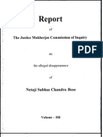 Justice Mukherjee Commission Report