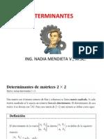 Determinantes y Regla de Cramer para ingenieros