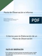 Diseño de Una Pauta de Observacion