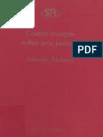 """""""Cuatro Ensayos Sobre Arte Poetica"""" de Antonio Alatorre"""