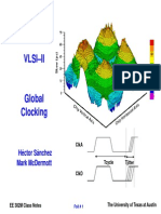 EE 382M VLSI-II Global Clocking