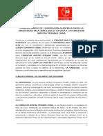 CONVENIO UIGV- FUNDACION