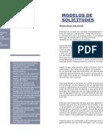 Modelo de Solicitud de Licencia de Reformas